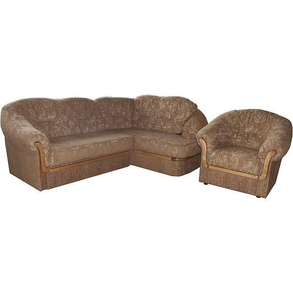 Набор мебели «Аленушка» БМ-49 угловой-диван и кресло (2ML5MR+12)